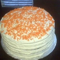 A Plus Carrot Cake Recipe - Tired of the same old, boring carrot cake?  THIS is the Carrot cake you'll love forever!  A little different because some of the ingredients aren't what you'd find in a 'normal' carrot cake.  My own MOTHER, who despises anything coconut, had two helpings for dessert and took some home!!  Don't knock it until you try it!!  You'll never go back to that boring recipe again.