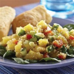 Mango Quinoa Salad Recipe - This dish is as healthy as it is colorful!
