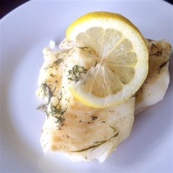 Salt-Crusted Lemon-Dill Cod Fillets Recipe - A mild, white fish is baked inside a fragrantly thick lemon-dill-infused salt crust to quickly maximize flavor while locking in moisture.