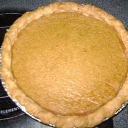 Sugarless Pumpkin Pie II