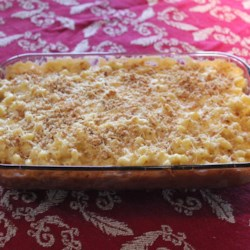 Four-Cheese Truffled Macaroni and Cheese Recipe - Elevate your macaroni and cheese to a new level of decadence with this recipe that calls for four types of cheese and truffle-infused oil.