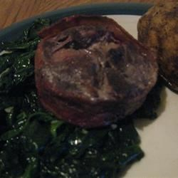 Easy Fried Spinach