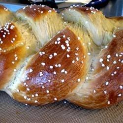 Braided Egg Bread