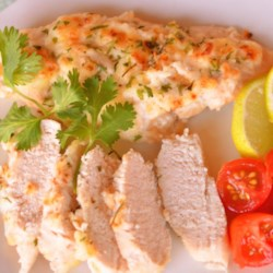 Jenny's Lime Glazed Chicken Recipe - Lime, mayonnaise and Parmesan combine to make a flavorful sauce for baked chicken.