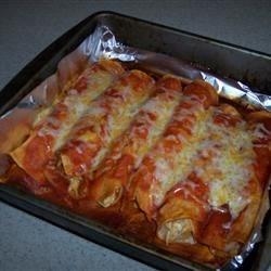 Chicken Enchiladas IV