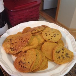 Helen's Priceless Pumpkin Pancakes Recipe - A family recipe passed down through generations, these buttermilk pumpkin pancakes are the perfect way to start your day.