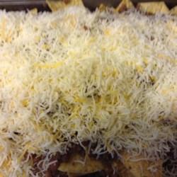 Layered Nacho Bake