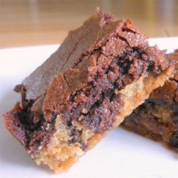 Brookies (Brownie Cookies) Recipe - Bake a layer of chocolate chip cookie dough with a layer of brownie batter and you get 'brookies': a cookie-brownie match made in heaven.