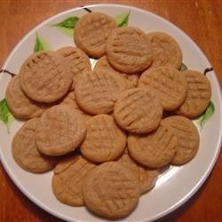 Flourless Peanut Butter Cookies- YUM!