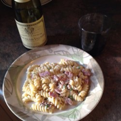 Quick and Creamy Pasta Carbonara