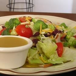 Easy and Good Honey Mustard Salad Dressing Recipe - This sweet salad dressing can be prepared in about 10 minutes.
