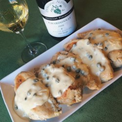 Chicken Breasts in Caper Cream Sauce Recipe and Video - A family favorite, these chicken breasts get the full-flavored treatment: these are smothered in a creamy dill and caper sauce, and seasoned with lemon pepper and garlic powder.