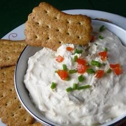 Martha's Clam Dip Recipe - Minced clams are mixed with cream cheese and lightly flavored with spicy sauces. Serve this dip with chips at your next party. Don't be shellfish!
