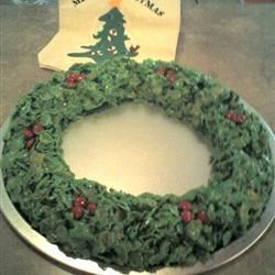 Holiday Wreaths Recipe - With this recipe, you can make wreaths using cornflakes. They're fun to make and eat. Get the kids involved and make an afternoon of it!