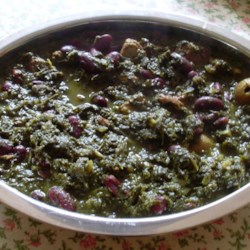 Not-Quite-Persian Ghormeh Sabzi (Green Stew) for the Slow Cooker