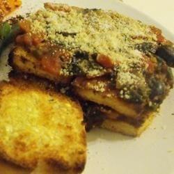 Tofu Parmigiana