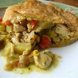 Chicken Pot Pie I Recipe - Easy Chicken Pot Pie.