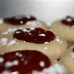 Shortbread Thumbprint Cookies