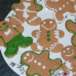 Whole Wheat Gingerbread Men