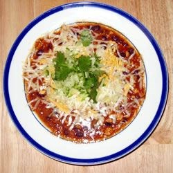 low fat chicken chili