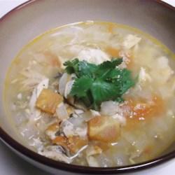 Salmon Stew (Abalos Style)