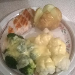 Cheese Sauce for Broccoli and Cauliflower