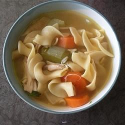 Fast Chicken Soup Base Recipe - It's from scratch - and fast! With my easy formula, you can make a fresh soup du jour even on a busy weeknight.