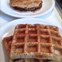 Gluten-Free Waffles Recipe - Buckwheat and almond flours are the key ingredients in these gluten-free waffles that are crispy on the outside and soft and delicious on the inside.