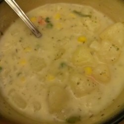 Old-Fashioned Potato Soup
