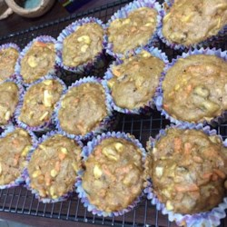 Great Apple and Carrot Muffins