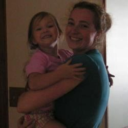 Me and my daughter, Hannah
