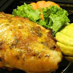 Holiday Turkey With Honey Orange Glaze