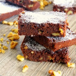 Banana and Walnut Brownies Recipe - Use a ripe banana and chopped walnuts to lift your boxed brownie mix into a winning recipe.