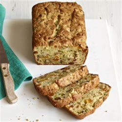 Our Favourite Zucchini Bread Recipe - Cream cheese, dried apricots and pecans will certainly make our super-moist, tender zucchini bread your favourite, too.