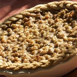 Walnut Pumpkin Pie Recipe - A slight twist on the traditional pumpkin pie.