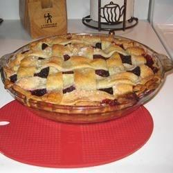 Blackberry Pie W/ Lattice Crust