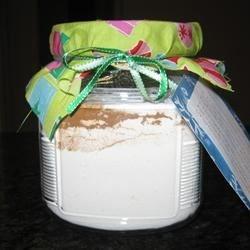 Cinnamon Pancakes in a Jar