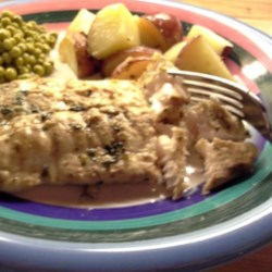 Greek-Style Mahi Mahi Recipe - Fresh mint, oregano, garlic, and lemon are the flavors in the marinade for this Greek-style grilled mahi mahi recipe.
