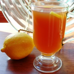 Honey-Lemon Ginger Tea Recipe - Use fresh ginger, brown sugar, honey, and lemon juice to add zing to your tea this winter using this simple recipe.