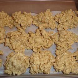 Crisp Peanut Candies