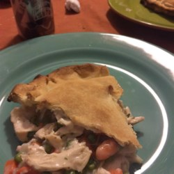 Healthier Chicken Pot Pie IX