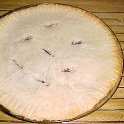 No Roll Pie Crust I Recipe - This is a no roll, press in the pan crust, made with oil instead of shortening. It is very good and very easy. A good choice for when a top crust isn't necessary. Vegetable oil may be used instead of peanut oil.