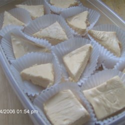 Peanut Butter Fudge II Recipe - I made this up for my niece who couldn't eat chocolate but loved peanut butter when she was about  five years old. She is now fourteen, and she still asks for it every Christmas.