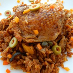 Chef John's Chicken and Rice  Recipe - Treat yourself to the ultimate comfort food with Chef John's recipe for arroz con pollo -- chicken and rice -- spiced with smoked paprika, garlic, and oregano.