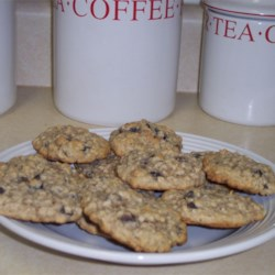 Raisin Oatmeal Cookies Recipe - A soft and chewy oatmeal raisin cookie. Easy to make and good to eat.