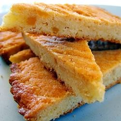 Botercake (Butter Cake) Recipe - This is a Dutch recipe for 'buttercake' made with plenty of butter, of course, and lemon and vanilla for flavor.