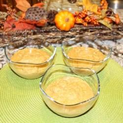 Spiced Pumpkin Oats Recipe - Creamy pumpkin oatmeal, lightly spiced, makes a warm and cozy breakfast.