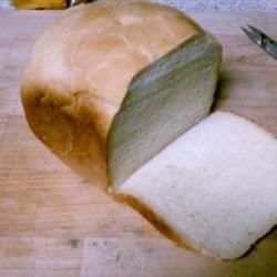 White Bread III Recipe - A simple white bread for the bread machine. Dry potato flakes help make the texture soft.