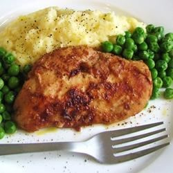Favorite Barbecue Chicken Recipe - Chicken breasts are grilled with a not-too-sweet, not-too-tangy barbecue sauce that everyone loves. Finishes in almost a glaze and would also be great on pork chops or ribs.