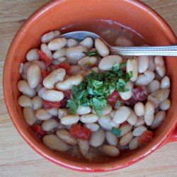 Smoked Pork Shank with White Beans  Recipe - Chef John's recipe for smoked pork shank with white beans is the perfect fall or winter dish for a cold evening.